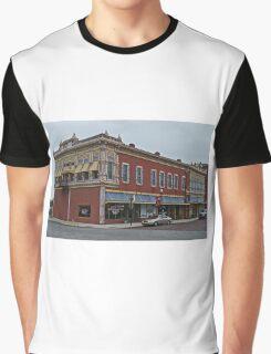 Milrose Block, Fort Scott, Kansas, USA Graphic T-Shirt