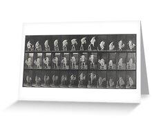Eadweard Muybridge - Photographic Motion Study Greeting Card