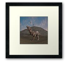 The Dinosaurs Still Rule Framed Print