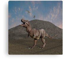 The Dinosaurs Still Rule Canvas Print