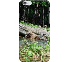 Black River Crocodile iPhone Case/Skin