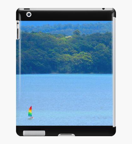 Lake Macquarie Sail Boat iPad Case/Skin