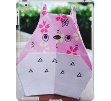 Paper Totoro iPad Case/Skin
