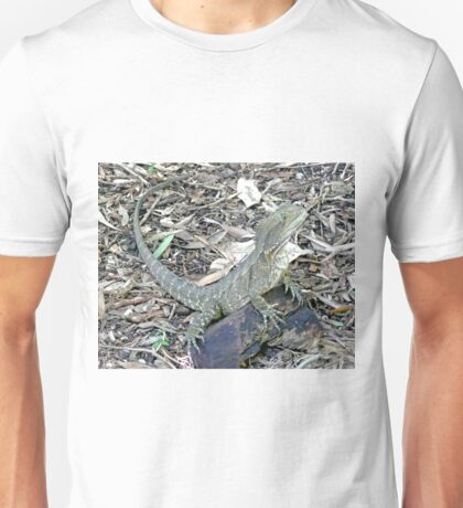 Common Bearded Dragon (pogona barbata) Unisex T-Shirt