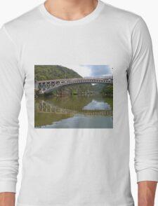Kings Bridge and Cataract Gorge, Launceston Tas, Australia Long Sleeve T-Shirt