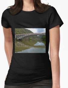 Kings Bridge and Cataract Gorge, Launceston Tas, Australia Womens Fitted T-Shirt
