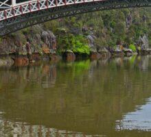 Kings Bridge and Cataract Gorge, Launceston Tas, Australia Sticker