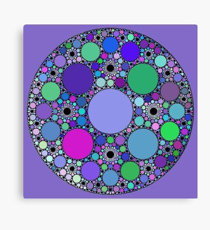 Circle fractals Canvas Print