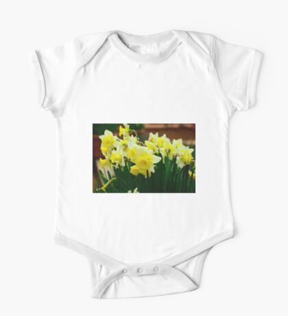 Silicon Valley Daffodils One Piece - Short Sleeve