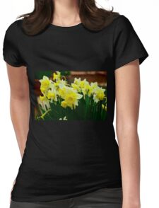 Silicon Valley Daffodils Womens Fitted T-Shirt