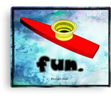 Kazoo Kid Fun Canvas Print