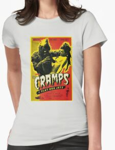 The Cramps Womens Fitted T-Shirt