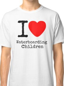 I <3 Waterboarding Children Classic T-Shirt