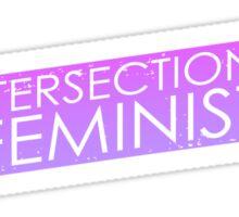 Intersectional Feminist - Purple Sticker