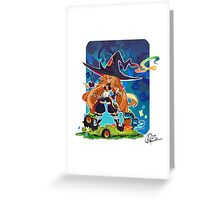 Metallia the Swamp Witch Greeting Card