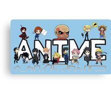 ANIME! Canvas Print