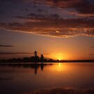 Tuggerah Lake Sunset, The Entrance, Australia 2004 by muz2142