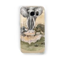 Elephant turtle condor tea time Samsung Galaxy Case/Skin