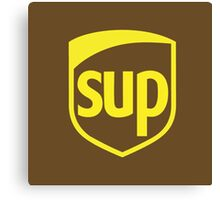 UPS SUP PARODY Canvas Print