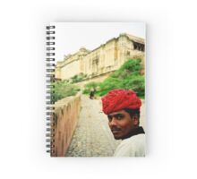Road Less Travelled - Jaipur, India Spiral Notebook