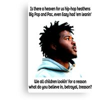 Hip-Hop Heathens Canvas Print
