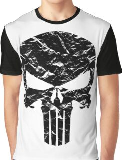Punisher Logo (Black) Graphic T-Shirt