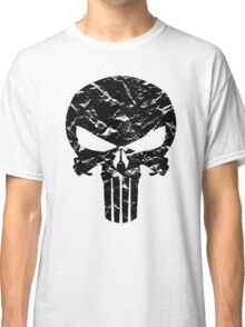 Punisher Logo (Black) Classic T-Shirt