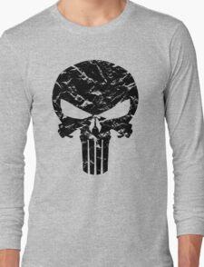 Punisher Logo (Black) Long Sleeve T-Shirt