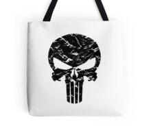 Punisher Logo (Black) Tote Bag