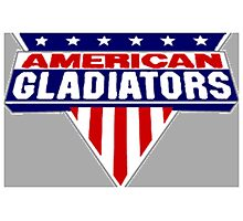 American Gladiators Photographic Print