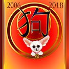 Year Of The Dog-Chihuahua by Lotacats