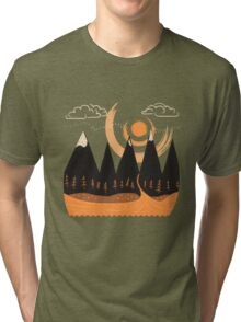 Sunny Mountain Pass Tri-blend T-Shirt