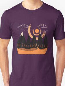 Sunny Mountain Pass #3 T-Shirt