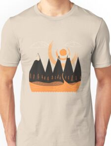 Sunny Mountain Pass Unisex T-Shirt