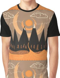 Sunny Mountain Pass Graphic T-Shirt