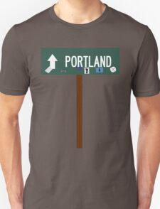 Portland Sign (w/ pole) T-Shirt