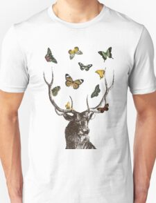 The Stag & Butterflies T-Shirt
