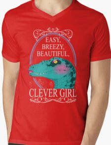 Easy, Breezy, Beautiful, Clever Girl Mens V-Neck T-Shirt