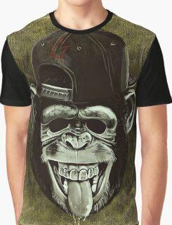 Funny Monkey Graphic T-Shirt