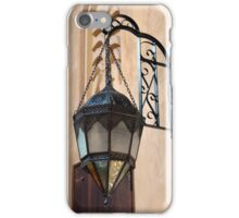 Vintage Gothic outdoor lamppost. iPhone Case/Skin