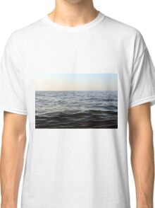 The sea natural background. Classic T-Shirt