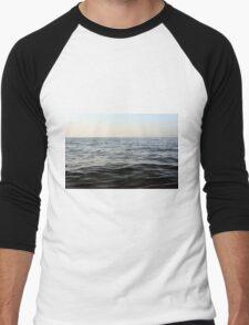 The sea natural background. Men's Baseball ¾ T-Shirt