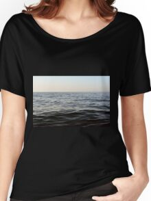 The sea natural background. Women's Relaxed Fit T-Shirt