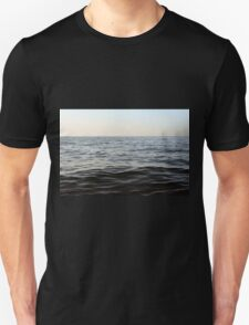 The sea natural background. Unisex T-Shirt