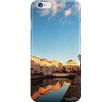 sunset in the city of Trieste iPhone Case/Skin