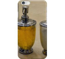 Two soap dispensers. iPhone Case/Skin