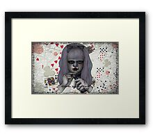 Alice in Another World Framed Print