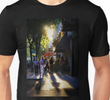 Downtown Saturday Night Unisex T-Shirt