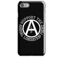 Animal Liberation Front Logo iPhone Case/Skin