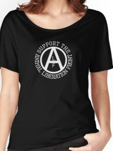 Animal Liberation Front Logo Women's Relaxed Fit T-Shirt
